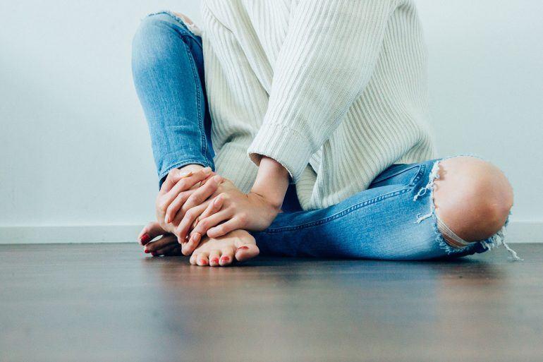 Tirando os Sapatos