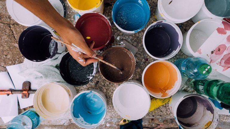 Tinta, Rolo e Pincel